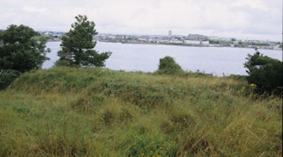 Looking north from Drake's Island to include Plymouth Hoe