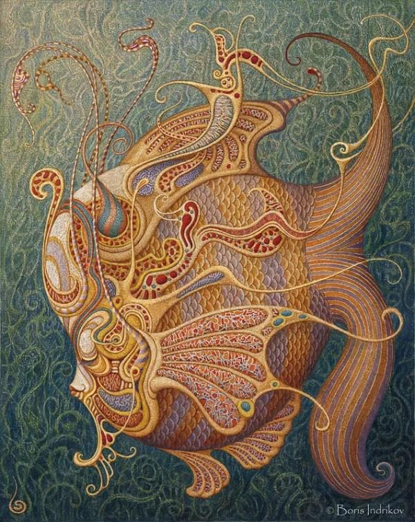 она не знает что это сны dreamfish boris indrikov борис индриков