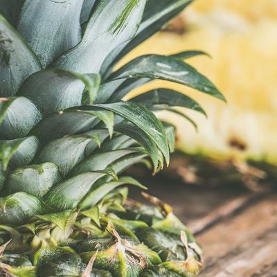 Piña, ingrediente de los productos Indrinah
