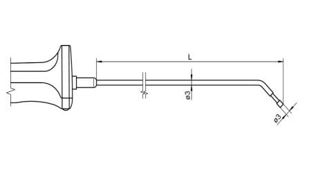 NiCr-Ni Sensor with Handle FTA121L