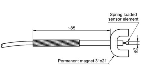NiCr-Ni Sensor FTA131