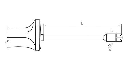NiCr-Ni Sensor with Handle FTA153LxxxxH