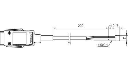NiCr-Ni Film Thermocouples FTA683