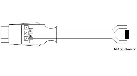ALMEMO® Connector for Ni100 and Ni1000 Sensors