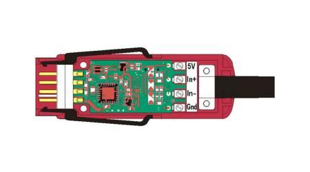 ZKD700FS Bridge Differential mV Digital ALMEMO® D7 Measuring Connector