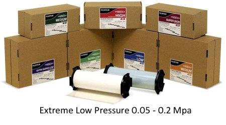 PF4LWR Pressure Film Extreme Low Pressure 0.05 - 0.2 Mpa