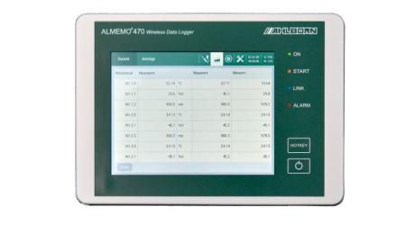 Wireless Data Logger ALMEMO® 470-1