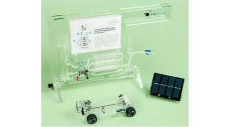 Solar Hydrogen Car and Gas Station Demo