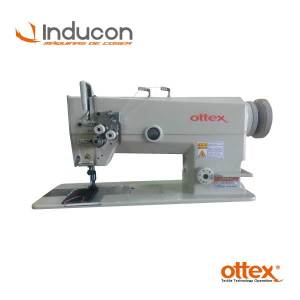 Foto de máquina doble aguja pesada Ottex