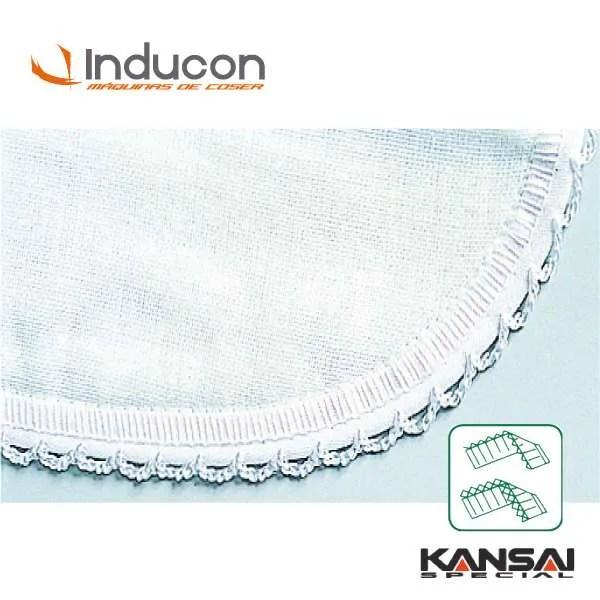 Foto de Máquina de coser picoeta Kansai PX302-5W puntada picot