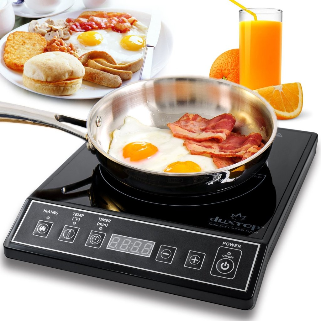 DUXTOP 1800 Watt Portable Induction Cooktop Countertop Burner 9100MC