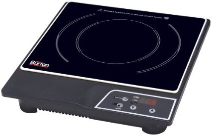 Max Burton 6000 1800-Watt Portable Induction Cooktop Review