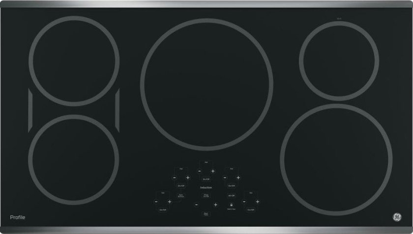 GE Profile PHP9036SJSS 36″ Stainless Steel Electric Induction Cooktop