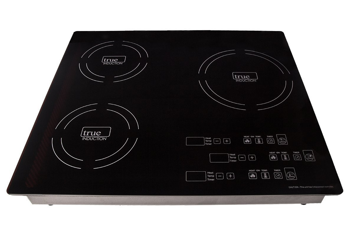 True Induction TI-3B Energy Efficient Induction Cooktop, Three Burner Counter Inset, Black - Review