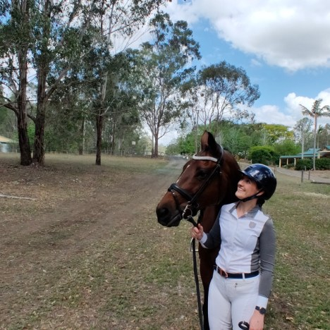 Equestrian Lives in Lockdown: Abriana From the U.S