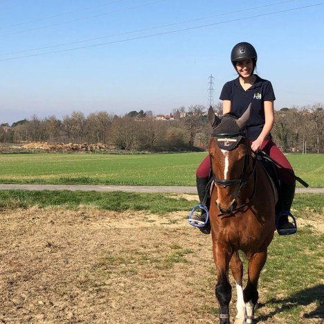 Equestrian Lives in Lockdown: Verena from the U.K