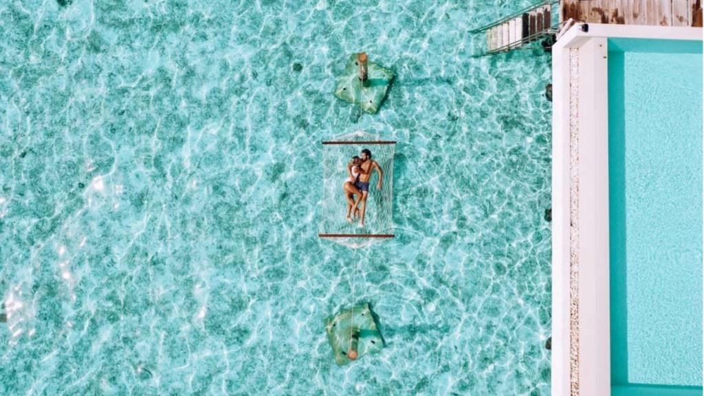 Amilla Fushi Resort Marie and Jake in Maldives