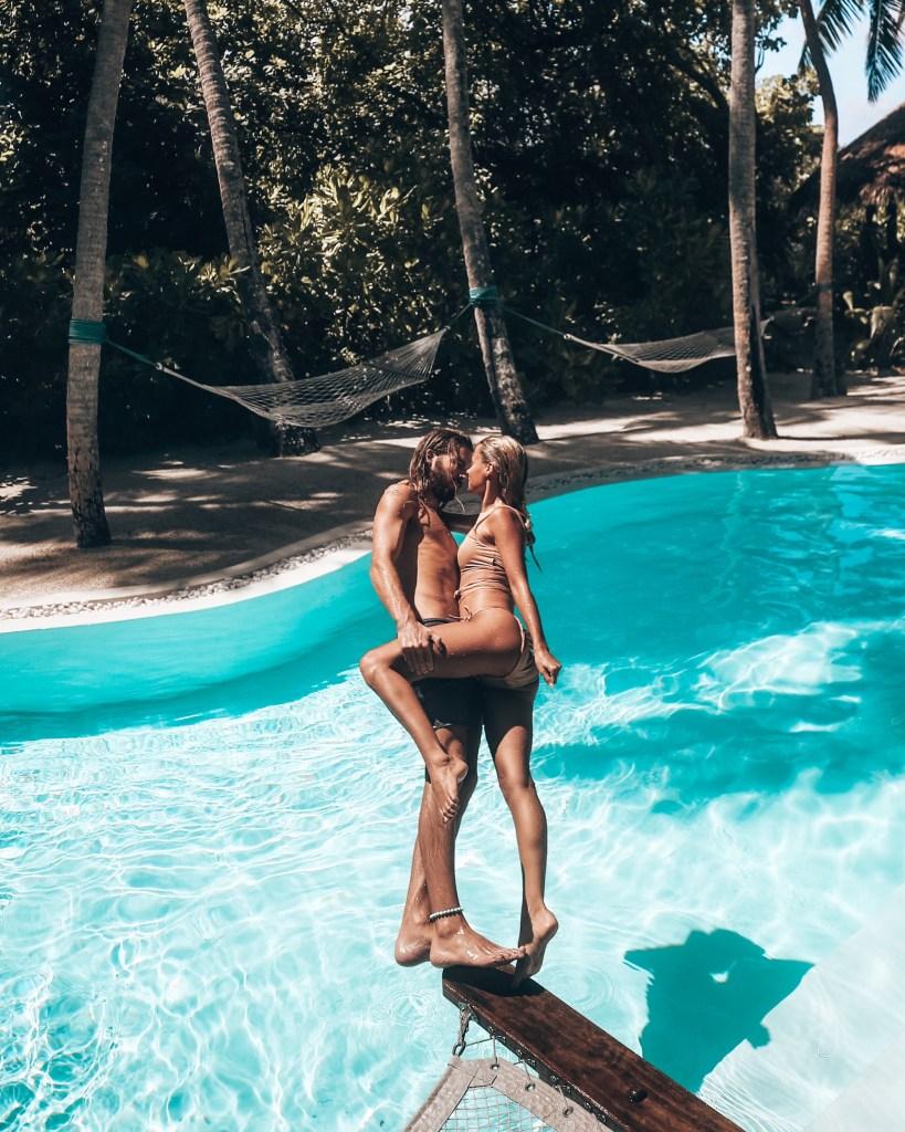 Marie and Jake Soneva Fushi Maldives