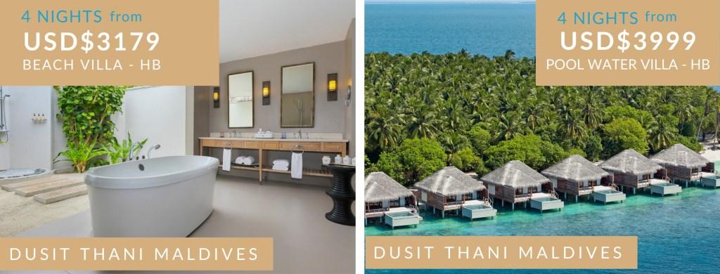 Dusit Thani Maldives resort deal