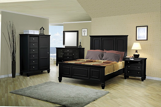 Stylish Bedroom Set   Buy Bedroom Set Price India   Induscraft com Stylish Solid Wooden Bedroom Set