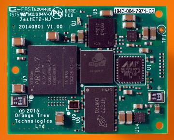 Módulo FPGA Gigabit Ethernet