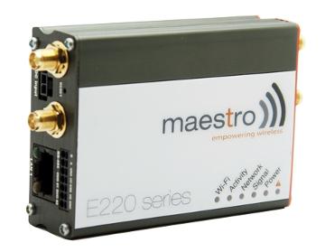 Router industrial para IoT compacto y rugerizado