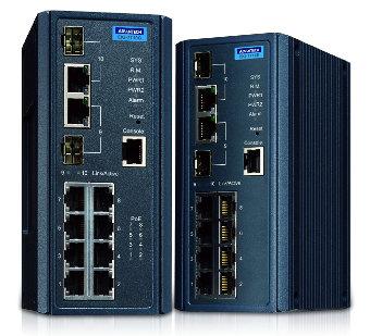 Switch gestionado con tecnología IXM