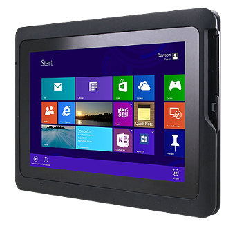 Tablet PC con diseño IP54 y MIL-STD-810G