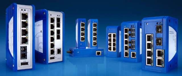 switches industriales no gestionados
