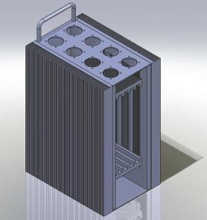 Chasis con refrigeración por conducción