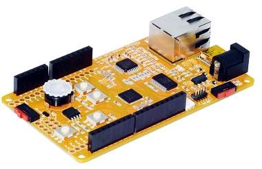Tarjeta de evaluación Ethernet IoT