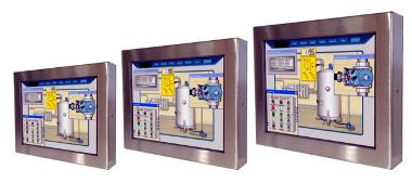 Panel PCs IP65 de varios tamaños