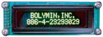 módulos OLED COG, PCB y RS232