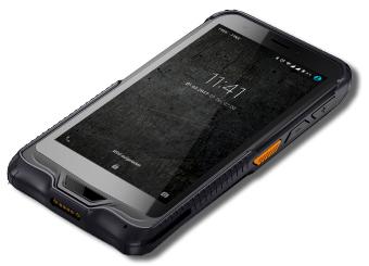 Smartphone industrial con escáner