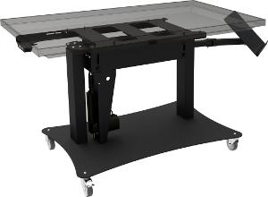 Mesa kiosco para cartelería digital