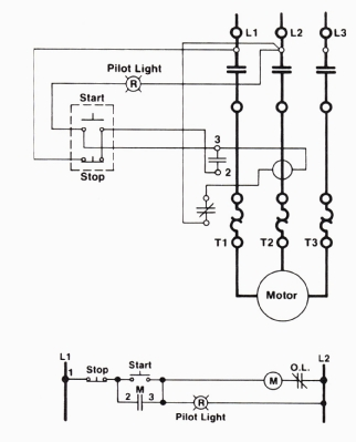 wiring diagram motor control circuit wiring diagrams basic motor control wiring diagram and schematic