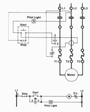 ThreeWire Control Circuit with Indicator Lamp