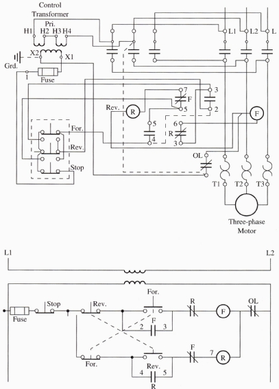 single phase motor wiring diagram reversing wiring diagram wiring up 240v motor 5 wires doityourself munity forums forward reverse single phase motor wiring diagram