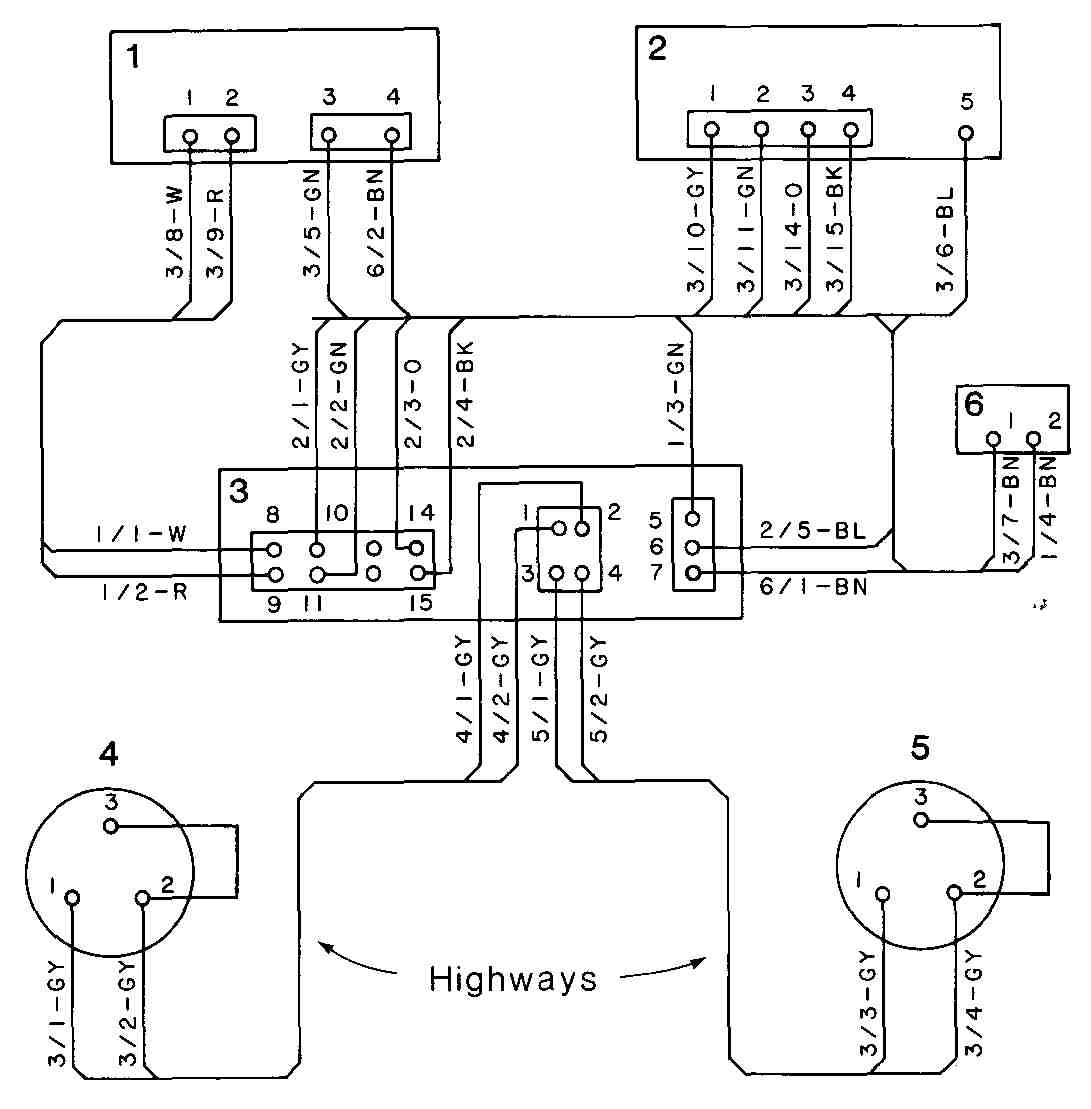 Highway Wiring Diagram