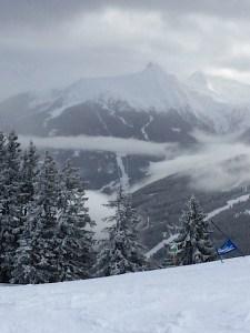 Skigebiet in Bad Gastein Foto: Carsten Knop