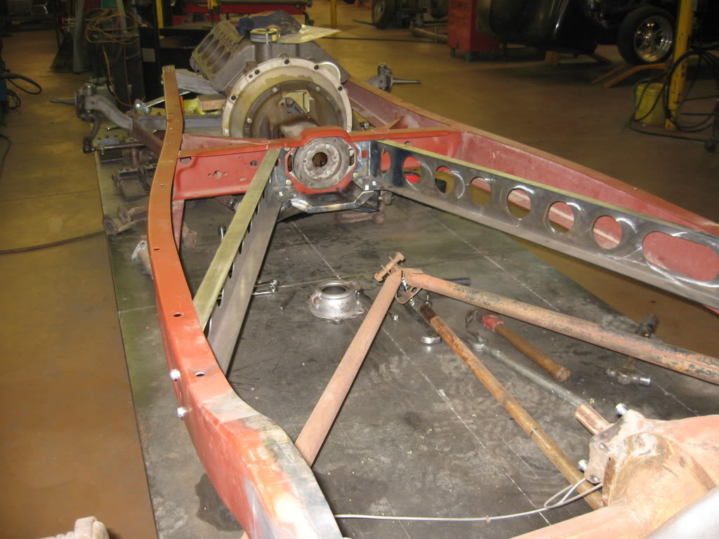 1932 Ford Rear K Member Legs Straight Industrial Chassis