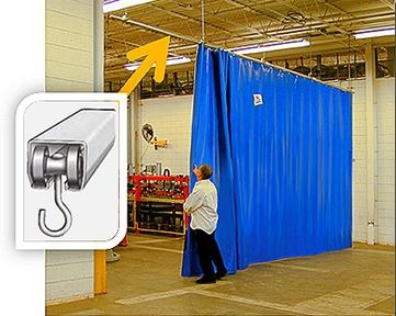 akon heavy duty curtain rails