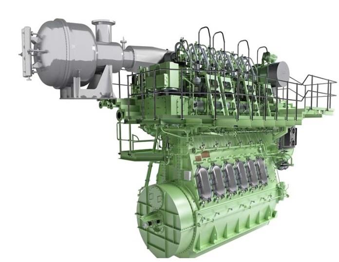 Ship Engine Emission Exhaust Gas Nox Low Speed Two Stroke Fuel Oil Recirculation Egr Scr