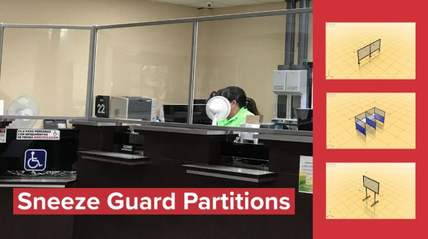 Sneeze Guard Partitions