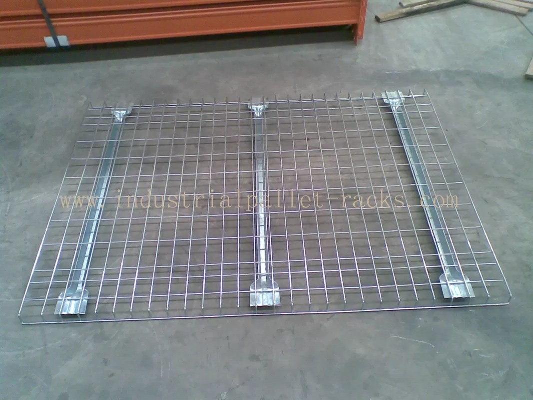 customized industrial pallet racks wire mesh decking wire decks for metal shelving