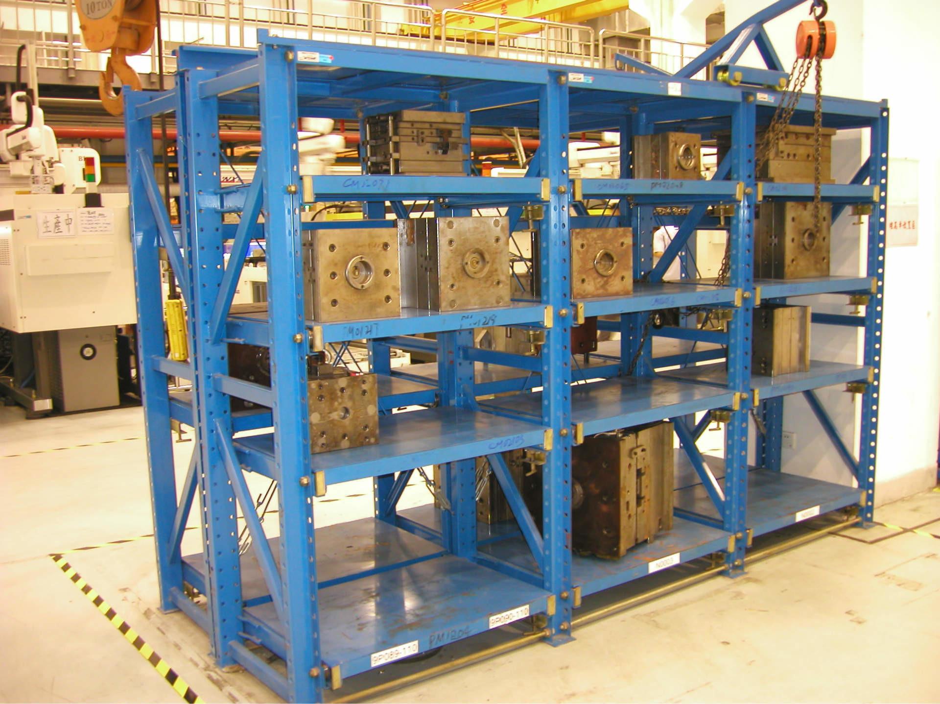 Custom Industrial Warehouse Storage Racks Heavy Duty Drawer