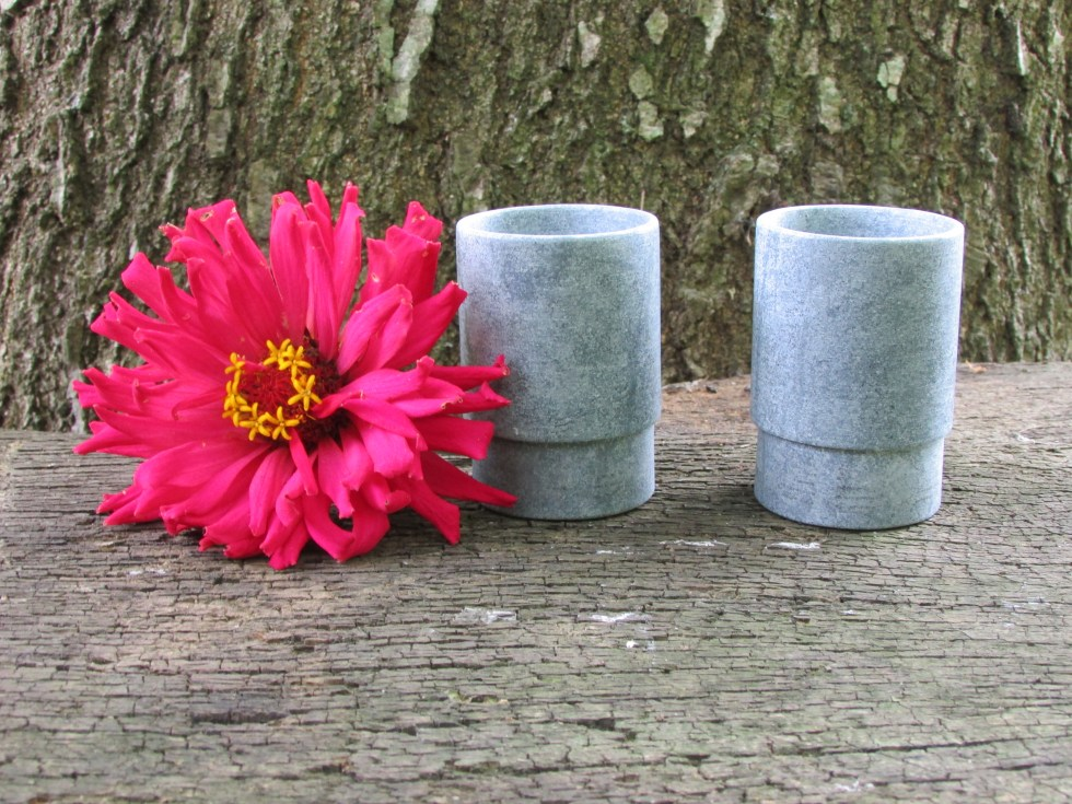Soapstone shot cups