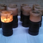 Ten Little Tea Lamps