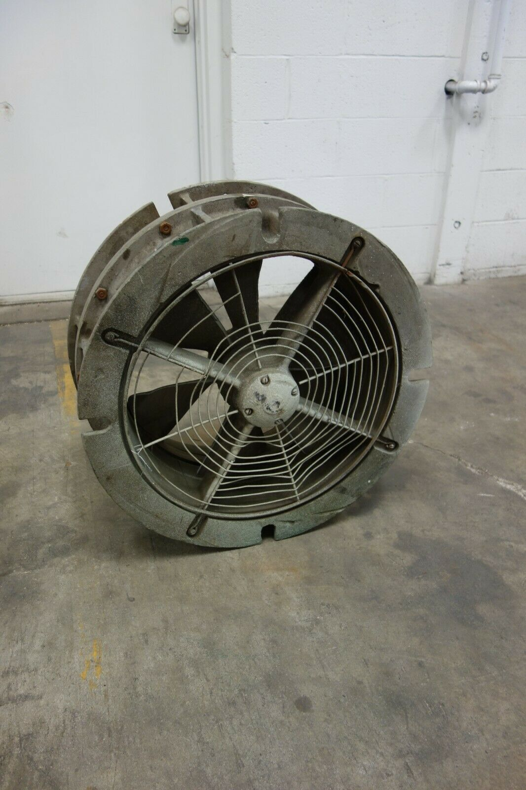 used coppus cp 20 air steam turbine driven blower exhauster exhaust fan