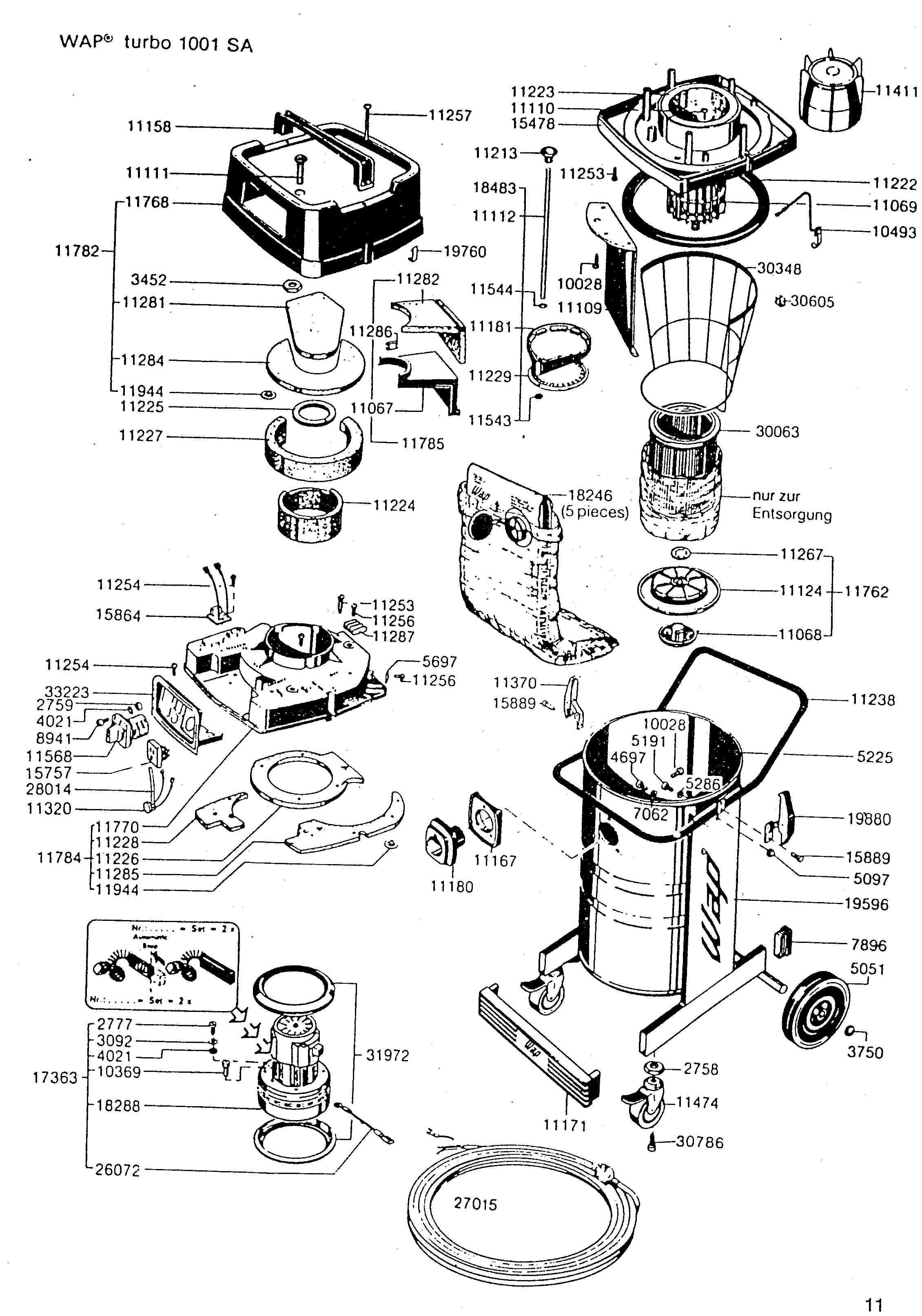 Turbo Vacuum Parts Amp Accessories Diagram